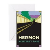 Hermon, Monterey Pass Greeting Card