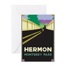 Hermon, Monterey Pass Greeting Card