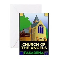 Church of the Angels, Pasaden Greeting Card