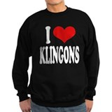 I Love Klingons Jumper Sweater