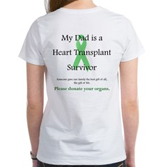 Dad Heart Transplant Women's T-Shirt