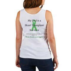Dad Heart Transplant Women's Tank Top