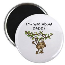 Wild About Daddy Magnet