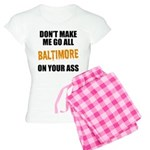 Baltimore Baseball Women's Light Pajamas