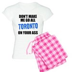 Toronto Baseball Women's Light Pajamas