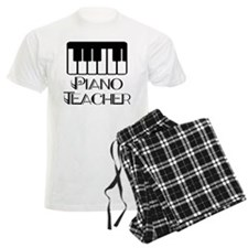 Piano Music Teacher Men's Light Pajamas