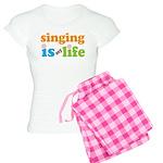 Singing is my Life Women's Light Pajamas