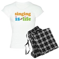 Singing is my Life Pajamas