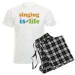 Singing is my Life Men's Light Pajamas