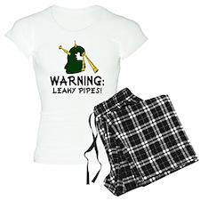 Bagpiper Leaky Pipes Pajamas
