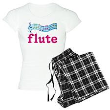 Music Staff Flute Pajamas