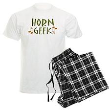Funny Horn Geek Men's Light Pajamas
