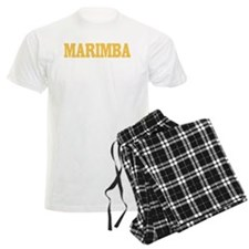Marimba Matters Men's Light Pajamas