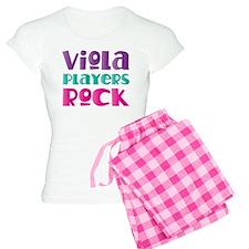 Viola Players Rock Women's Light Pajamas