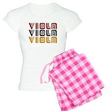 Viola Trio Music Women's Light Pajamas