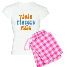 Viola Players Rule Women's Light Pajamas