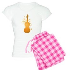 Swirl Violin Women's Light Pajamas