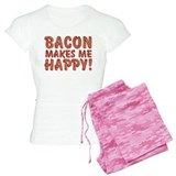 Bacon Makes Me Happy pajamas