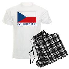 Czech Republic Flag Pajamas