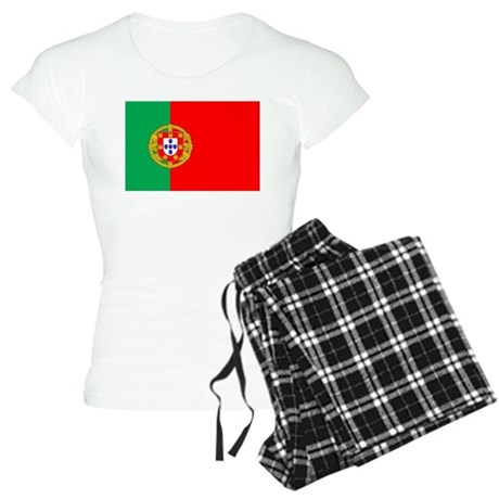 Portuguese, Flag of Portugal Women's Light Pajamas