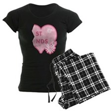 Pink Best Friends Heart Right Pajamas
