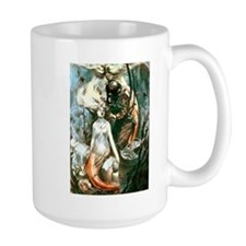 Diver and the Mermaids Mug