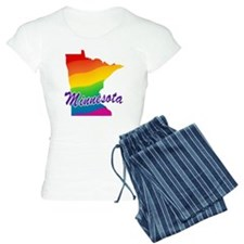 Gay Pride Rainbow Minnesota Pajamas