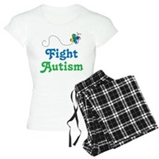 Fight Autism Butterfly Pajamas