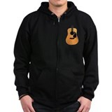 Acoustic Guitar Zip Hoodie