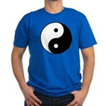 Yin Yang Men's Fitted T-Shirt (dark)