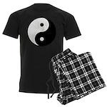 Yin Yang Men's Dark Pajamas