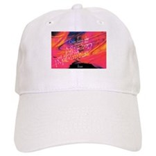 Escher Quote Pink Baseball Cap