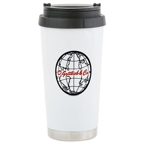 "Gottlieb® ""World"" Logo Ceramic Travel Mug"