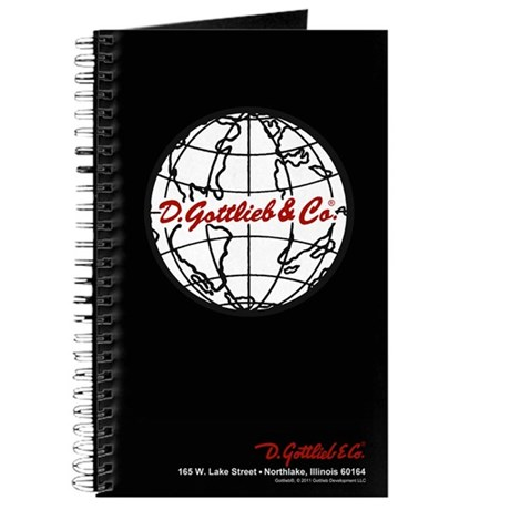 "Gottlieb® ""World"" Logo Journal"
