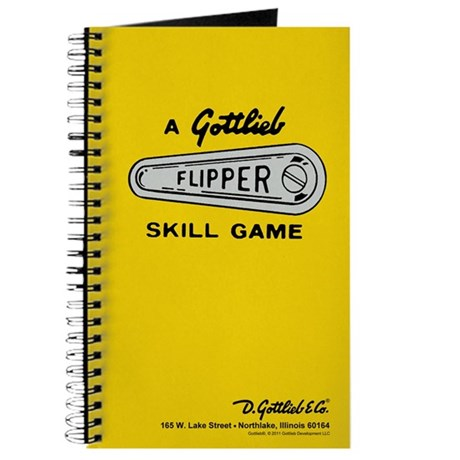 Gottlieb&reg; &quot;Flipper&quot; Logo Journal