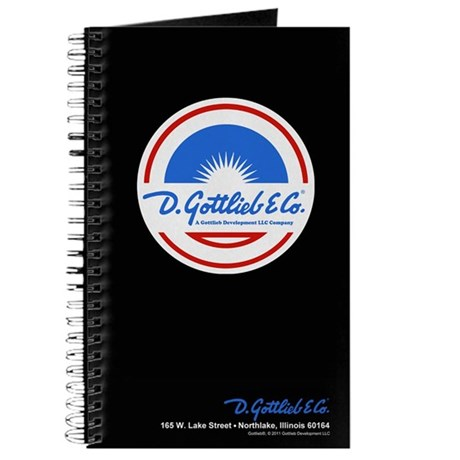 "Gottlieb® ""Sunburst"" Logo Journal"