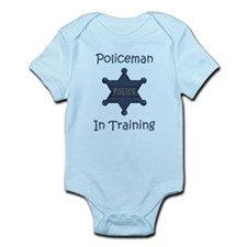 Policeman In Training Infant Bodysuit