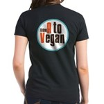 From A to Vegan Women's Dark T-Shirt