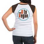 From A to Vegan Women's Cap Sleeve T-Shirt