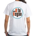 From A to Vegan White T-Shirt