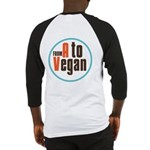 From A to Vegan Baseball Jersey