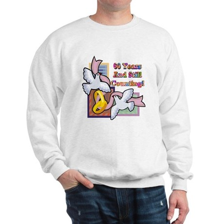 60th Wedding Anniversary Sweatshirt