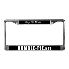 Cute Pie License Plate Frame