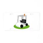 Golf Cart Golfing Gift License Plate