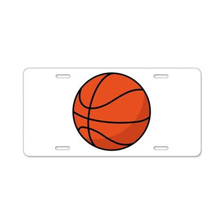 Basketball Lover License Plate