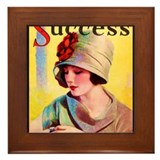 Art Deco Best Seller Framed Tile