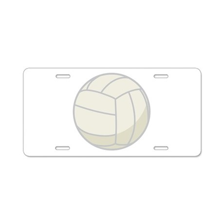 Volleyball Sports Fan License Plate