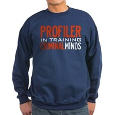 Profiler in Training Criminal Minds Sweatshirt