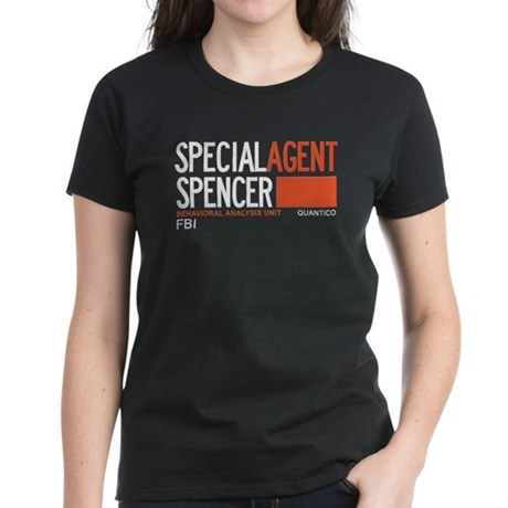 Special Agent Spencer Criminal Minds Women's Dark