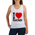 I Love Rock Radio Women's Tank Top